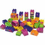Set educational pentru fete, 40 cuburi, 1 placa