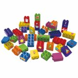 Set educational, 40 cuburi