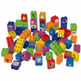 Set educational, 60 cuburi