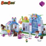 Set constructie Trendy City, Pet Shop, Banbao