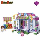 Set constructie Trendy City, cafenea, Banbao