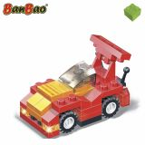 Set constructie Masina F1 rosie, Banbao