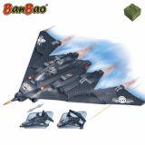 Set constructie, 3 in 1, avioane militare, Banbao