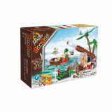 Set constructie Atac pirati, Banbao