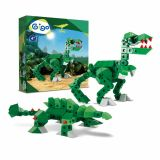 Set constructie Dinozaur T-Rex, Gigo