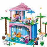 Set constructie Casa la plaja, Banbao