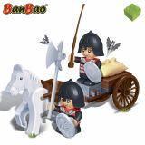 Set constructie Ostasi si caruta, Banbao