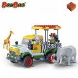 Set constructie Safari, masina de teren, Banbao