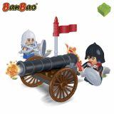 Set constructie Soldati si tun, Banbao