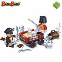 Set constructie Pirat versus ofiter, Banbao