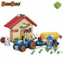 Set constructie Ecofarm, tractor cu cisterna, Banbao