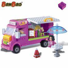 Set constructie Trendy City, furgoneta cu inghetata, Banbao