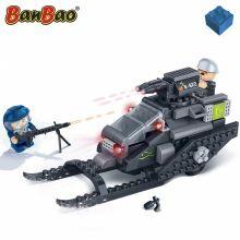 Set constructie Trupele speciale, snowmobil, Banbao