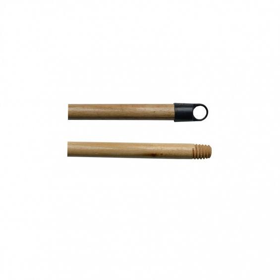 Coada de lemn, 1,2 m, lacuita, cu filet