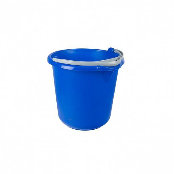Galeata rotunda, 10 litri, maner plastic