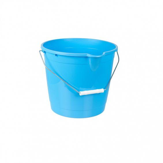 Galeata rotunda, 10 litri, maner metalic