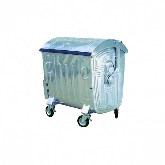 Container din metal, 1100 litri