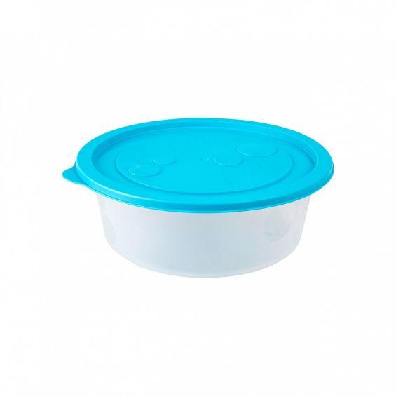 Cutie alimente, rotunda, 1,2 litri