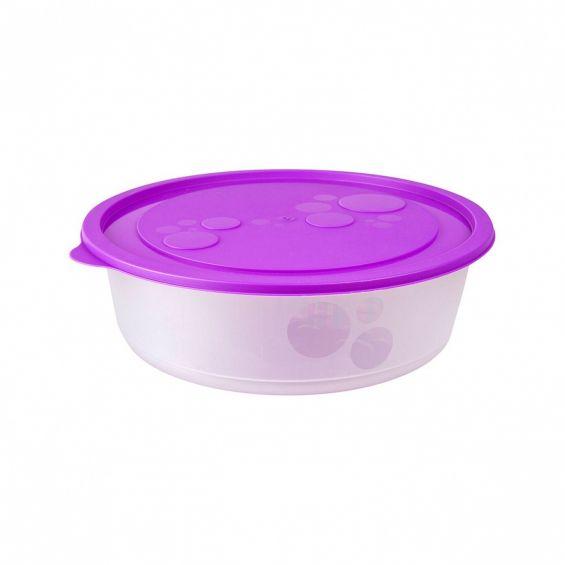 Cutie alimente, rotunda, 2,8 litri