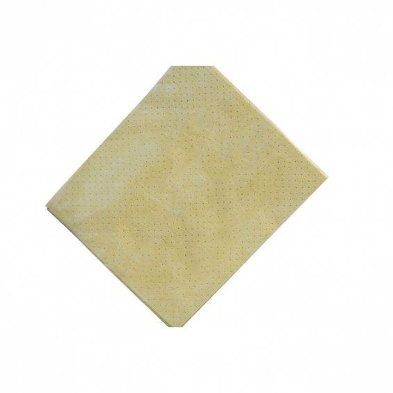 Laveta perforata din piele sintetica, 39x35 cm