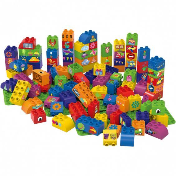 Set educational, 100 cuburi, 3 placi