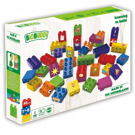 Set educational, 40 cuburi