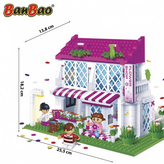 Set constructie Florarie, Banbao