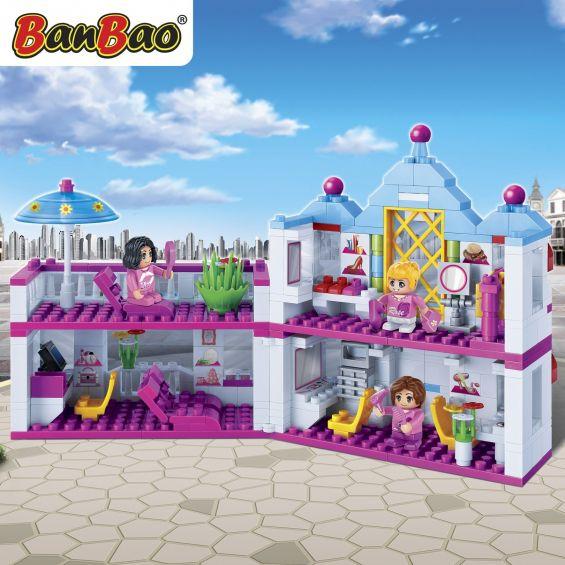 Set constructie Trendy City, centru de infrumusetare, Banbao