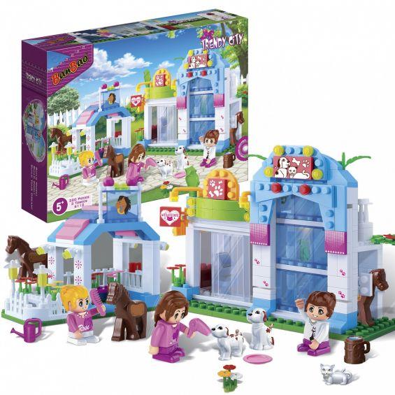 Set constructie Trendy City, Pet Shop, Banbao