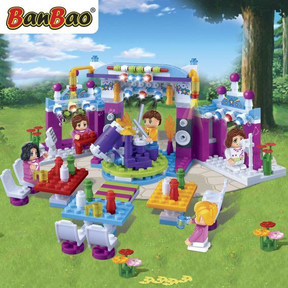 Set constructie Trendy City, festival, Banbao