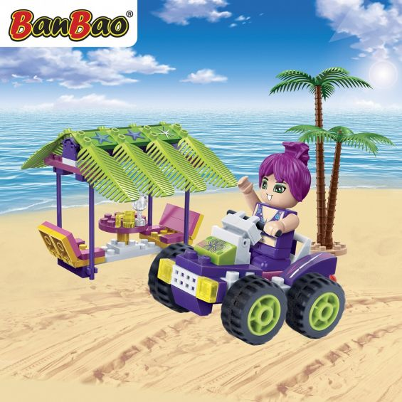 Set constructie Trendy Beach ATV si bar, Banbao