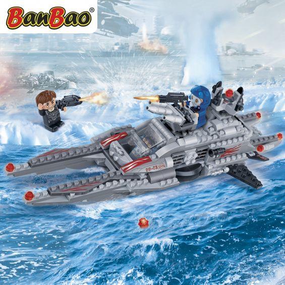 Set constructie Trupele speciale, salupa, Banbao