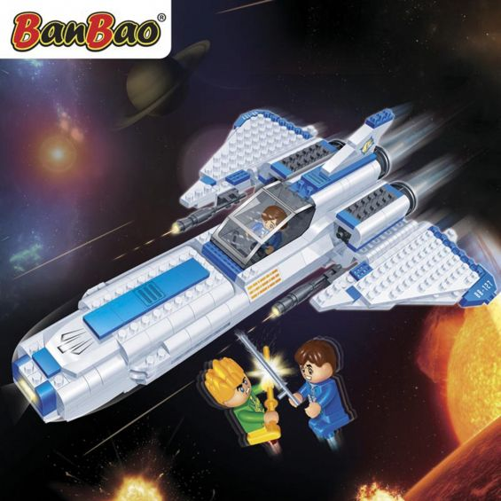 Set constructie Journey Enterprise, Banbao