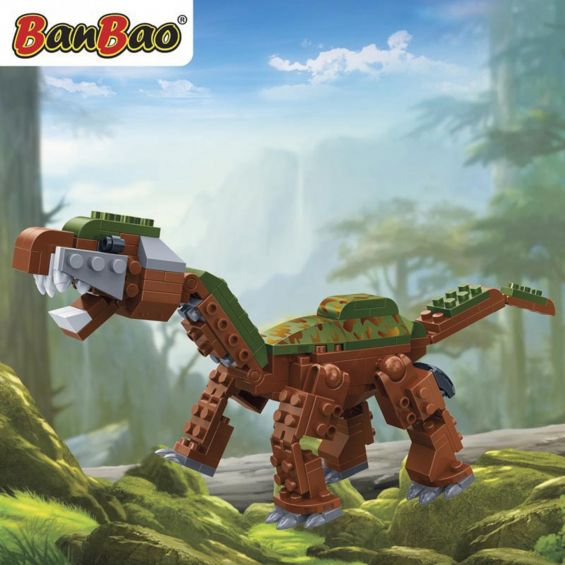 Set constructie Dinozaur patruped, Banbao