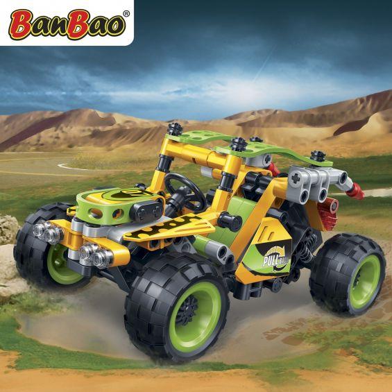 Set constructie Hitech Automobil de teren (3) Banbao