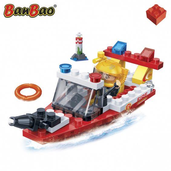 Set constructie Barca interventie pompieri, Banbao