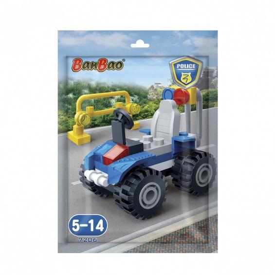 Set constructie ATV politie, Banbao