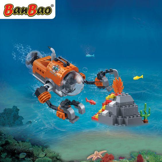Set constructie Duncans's Treasure submarin cu brate, Banbao