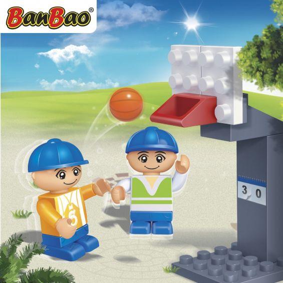 Set constructie Joc baschet, Banbao