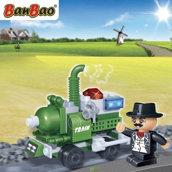 Set constructie Locomotiva, Banbao