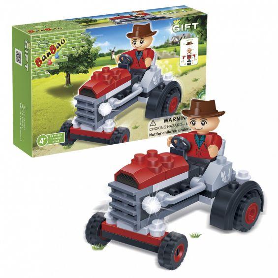Set constructie Tractor, Banbao