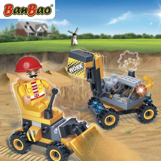 Set constructie Buldozer, Banbao