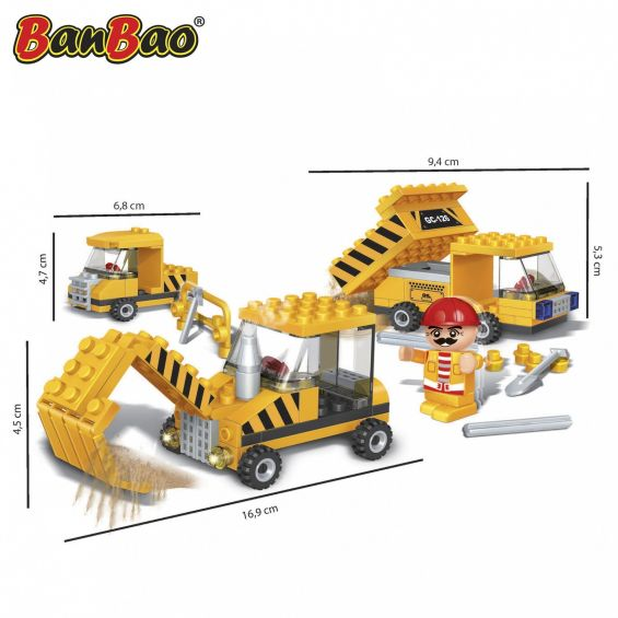 Set constructie Utilaje constructii, Banbao
