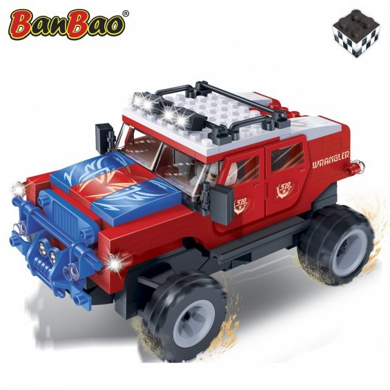 Set constructie Red Furry, Banbao