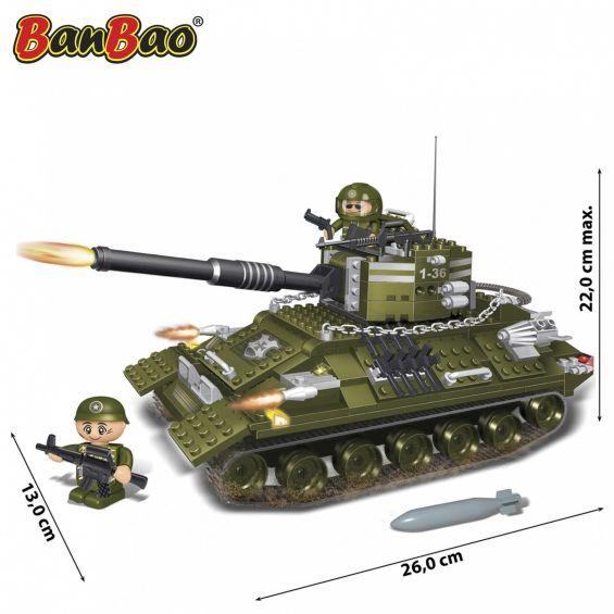 Set constructie Tanc cu senile (3), Banbao
