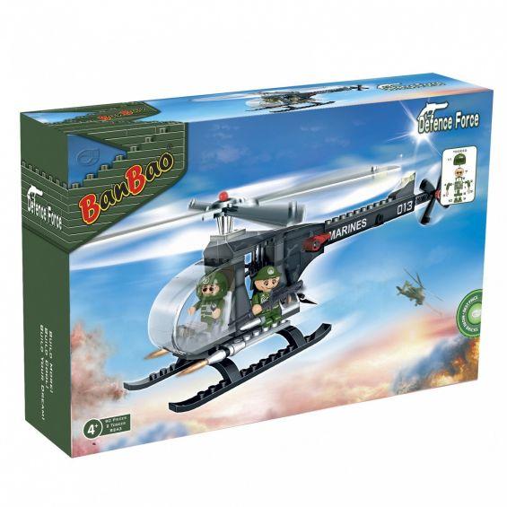 Set constructie Elicopter militar mic, Banbao