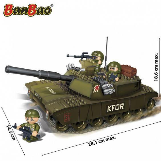 Set constructie Tanc cu senile (4), Banbao