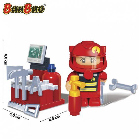 Set constructie Pompieri, Banbao
