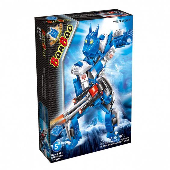 Set constructie Robot Wild Wolf, Banbao