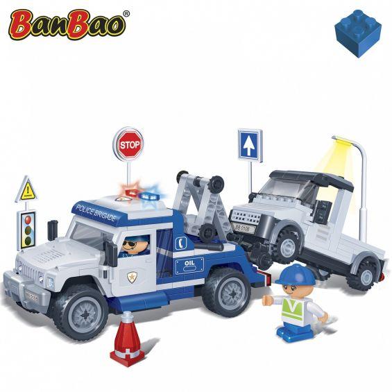Set constructie Masina tractare, Banbao